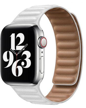 Apple Watch 皮革鏈紋錶帶